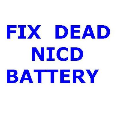 Product picture HOW TO REPAIR NICD BATTERY DIY GUIDE